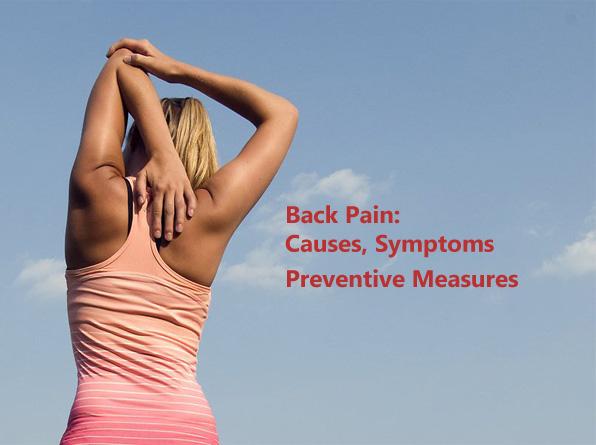 Back pain causes symptoms prevention