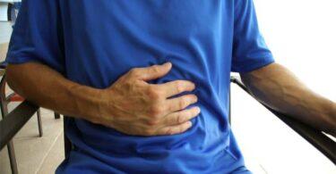pain under left rib cage