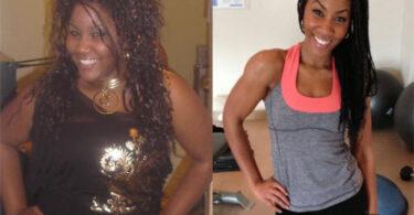 tameika gentles weight loss transformation