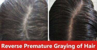 premature greying hair mask