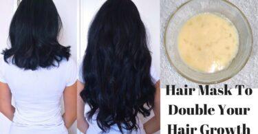 hair mask double hair growth